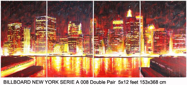 Patrick-Bancel-Billboard-New-York-Serie-A-008-Dble-Pair-w